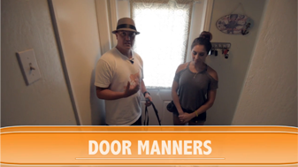 Door Manners Solved: Jumping, Bolting & Wait at the Door