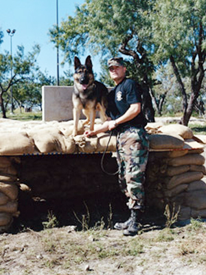 Ryan Matthews, head trainer has been training dogs since 2002.